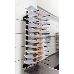 Saro Wall Plate Rack JACKSTACK Model JS 012HW