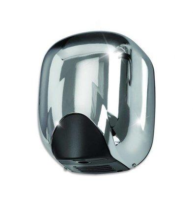 VAMA Handdroger Chroom | SUPER KRACHTIG | 8 - 10 sec | 1100W - Xlerator / eXtreme ''Look-a-Like''