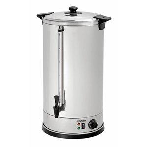 Bartscher Glühwein stainless steel boiler / hot water dispenser | Ø395 mm | faucet | 28 liters