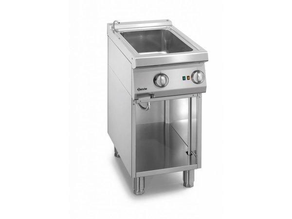 Bartscher Elektrischer 1/1 GN Bain-Marie | Mit Wasserhahn | 400x700x (H) 850-900mm