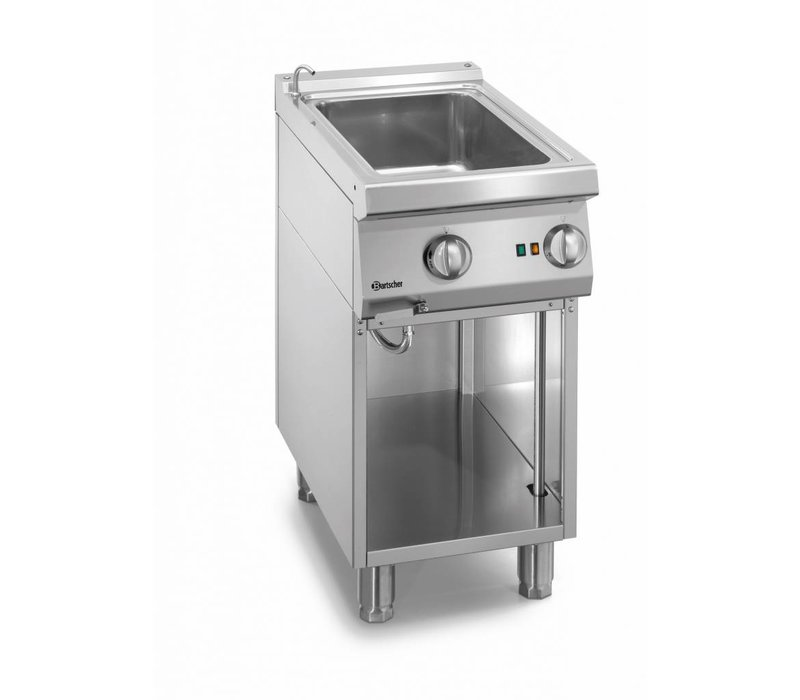 Bartscher Electrical 1/1 GN Bain-Marie   With water supply tap   400x700x (H) 850-900mm
