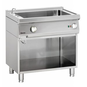 Bartscher Electrical 2/1 GN Bain-Marie | With water supply tap | 800x700x (H) 850-900mm