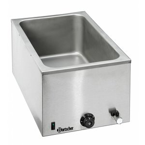 Bartscher Bain Marie   1/1 GN   Faucet 200 mm +   355x550x (H) 295mm