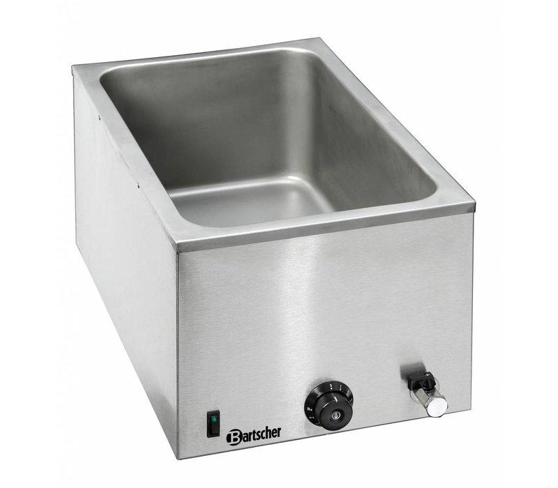 Bartscher Bain-Marie | 1/1 GN | Wasserhahn 200 mm + | 355x550x (H) 295mm