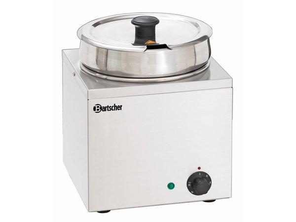 Bartscher Hotpot | Bain-Marie | Edelstahl | 1x6,5 Liter | 255x280x (H) 320mm