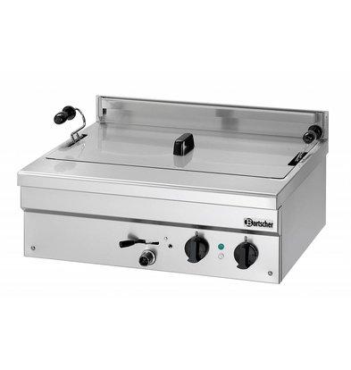 Bartscher Fritteuse | Elektrizität | Bäckerei Fisch und Oliebollen | 21 Liter | 400V | 6,8 kW | 700x580x (H) 250mm