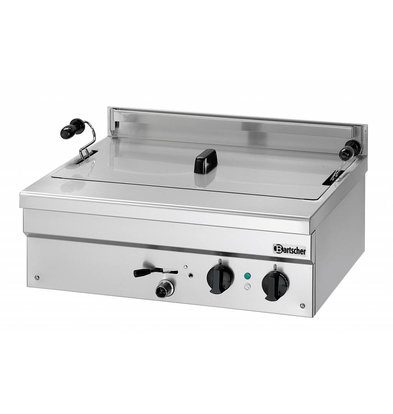 Bartscher fryer | electric | Bakery Fish and Oliebollen | 21 liters | 400V | 6,8 kW | 700x580x (H) 250mm