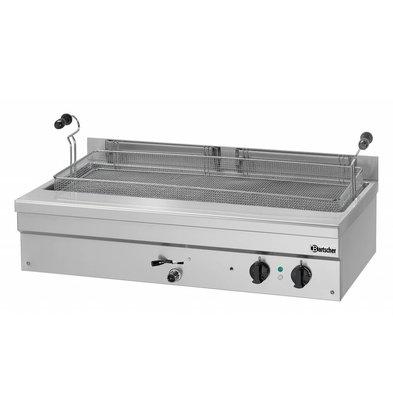 Bartscher Fritteuse | Elektrizität | Bäckerei Fisch und Oliebollen | 35 Liter | 400V | 10kW | 1095x600x340mm