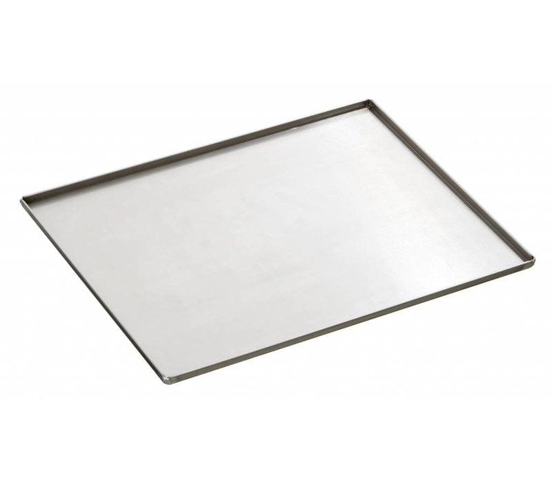 Bartscher Edelstahl-Backform | Bakery standard | 433x333x (H) 10 mm
