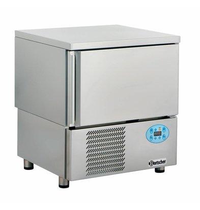 Bartscher Blast Chiller / Blast chiller / freezer Fast 5 x 1 / 1GN - 5 x 60x40cm