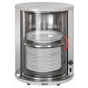 Bartscher Bordenwarmer voor 30-40 Borden - 600W - 46x(h)57,5cm