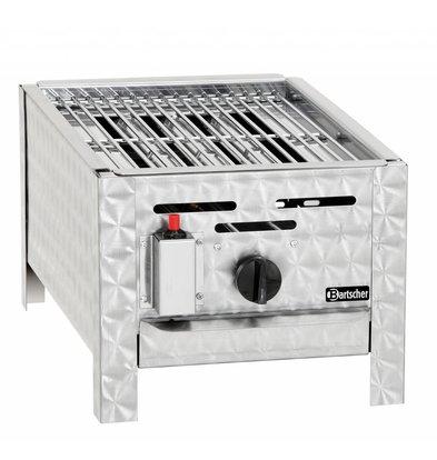 Bartscher Gas Combi Table BBQ - Toaster Mini