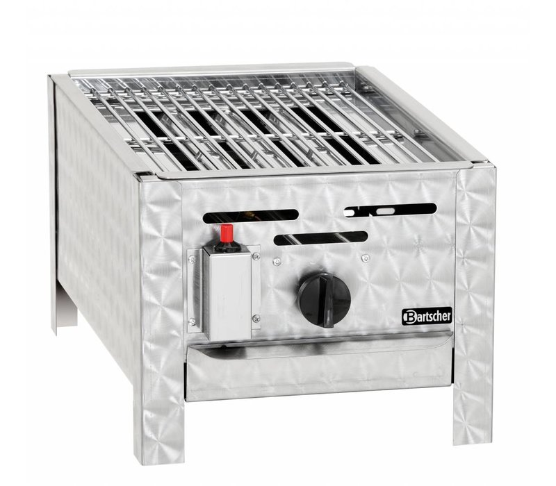 Bartscher Gas-combi-tafel BBQ - Rooster Mini