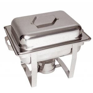 Bartscher MINI Chafing Dish | Chrome nickel steel | 1/2 GN | 65mm deep | 375x290x (H) 320mm