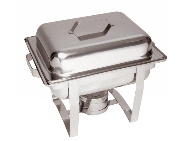 Bartscher MINI Chafing Dish | Chrome nickel steel | 1/2 GN | 65mm deep | 375x290x (H) 320mm