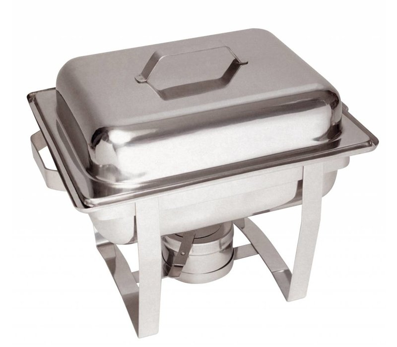 Bartscher MINI Chafing Dish | Chromnickelstahl | 1/2 GN | 65mm tief | 375x290x (H) 320mm
