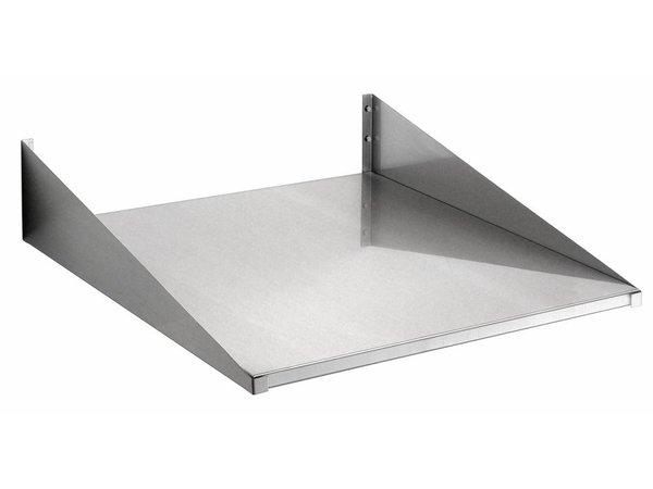 Bartscher Wandbord 600x600mm, CNS