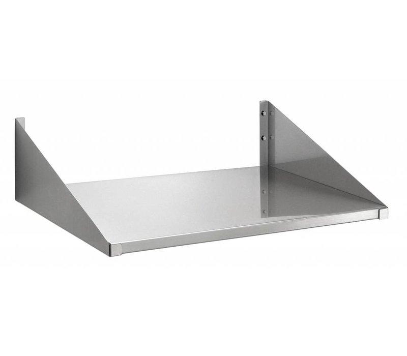 Bartscher Wandbord 520x400mm, CNS