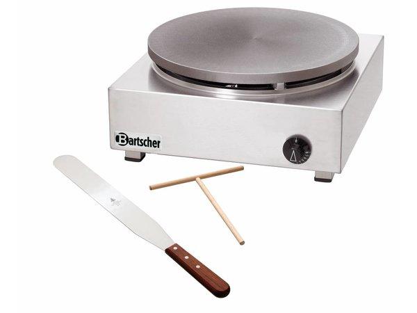 Bartscher Professionele Crepemaker op Gas   Enkel   6 kW   40 cm diameter + Schraper