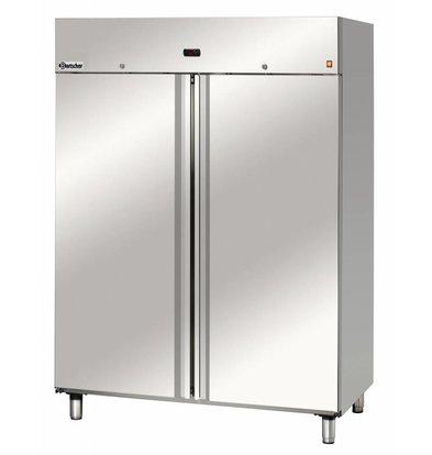 Bartscher Gefrierschrank für 2/1 GN - 140x81x (h) 188cm - 1400 Liter.