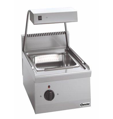 Bartscher Frites-Warming Unit with Heat Bridge Series 600 - 400x600x (H) 290 mm