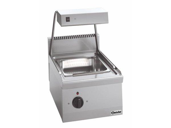 Bartscher Frites-Warmhoudapparaat met Warmtebrug Serie 600 - 400x600x(H)290 mm