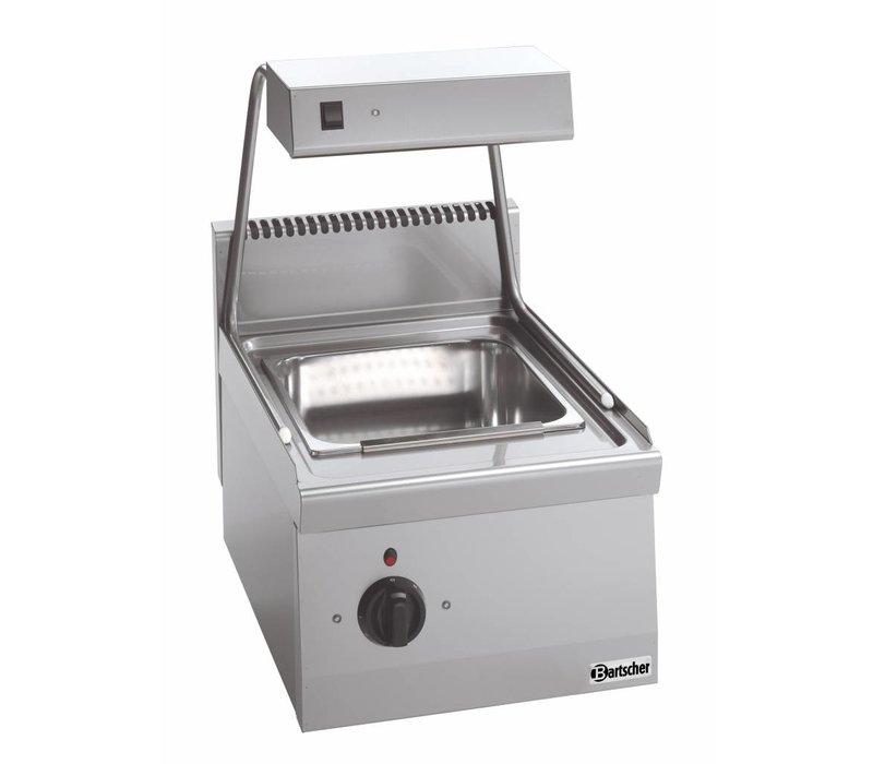 Bartscher Frites-Erwärmungssystem mit Wärmebrücke Serie 600 - 400x600x (H) 290 mm