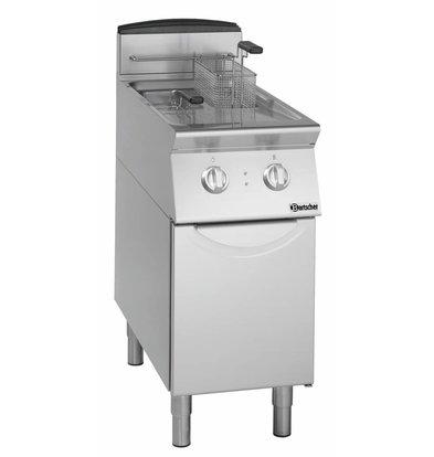Bartscher Friteuse | Elektrisch | 2 x 8 Liter | 400V | 14kW | Met Onderstel | 400x700x(h)850mm