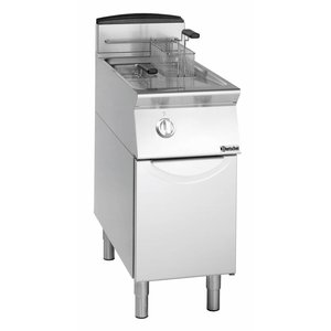 Bartscher fryer | gas | 2x8 Liter | 12kW | With Mount | 40x70x (h) 85cm