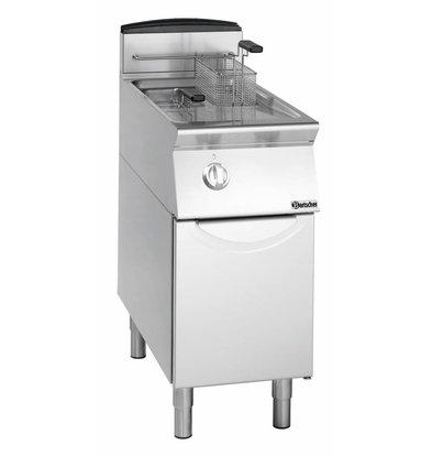 Bartscher fryer | gas | 2x8 Liter | 12kW | With Mount | 40x70x (h) 85cm