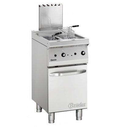 Bartscher Fritteuse | Gas | Serie 700 | 2x7Liter | 11,5kW | 2 Indoor Pan | 40x70x (h) 85 / 90cm