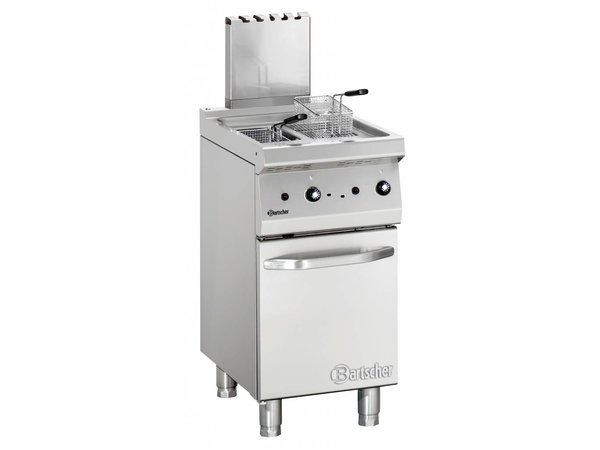 Bartscher fryer | gas | Series 700 | 2x7Liter | 11,5kW | 2 Indoor Pan | 40x70x (h) 85 / 90cm