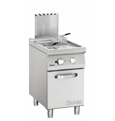 Bartscher Fritteuse | Gas | Serie 900 | 20 Liter | 18kW | 1 Innen | 45x90x (h) 85 / 90cm