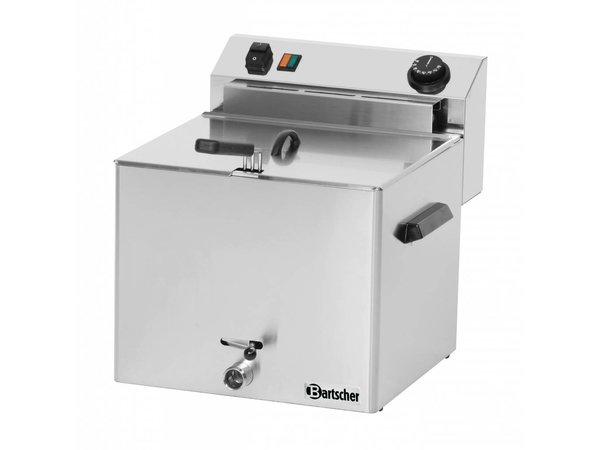 Bartscher Electric Fryer PRO | 10 Liter | With drain valve | 8,1kW | 400V | 390x450x (H) 375mm
