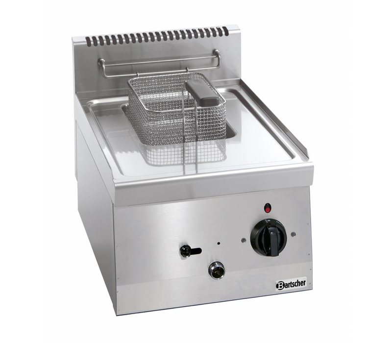 Bartscher Electric Fryer | 1x6 Liter | Series 600 | 230V | 3,3kw | With fixed Heater | 400x600x (H) 290 mm
