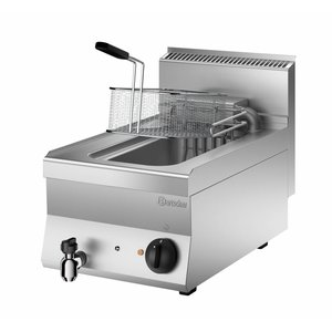 Bartscher Electric Fryer | With Flip-Heater | 10 Liter | 400V | 9kW | 400x650x (H) 295mm