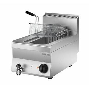 Bartscher Friteuse Elektrisch | Met Uitklapbaar Verwarmingselement | 10 Liter | 400V | 9kW | 400x650x(H)295mm