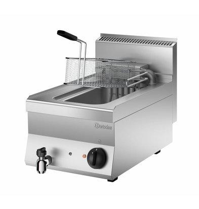 Bartscher Electric Fryer | With Flip-Heater | 10 Liter | 400V | 9kW | 400x650x (H) 295mm