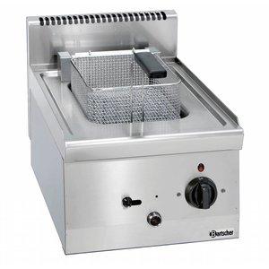 Bartscher Electric Fryer | 1x8 Liter | Series 600 | With printout Baar Heater | 400V | 6,3kW | 400x600x (H) 290mm