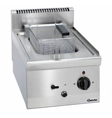 Bartscher Elektrische Friteuse | 1x8 Liter | Serie 600 | Met Uitdraaibaar Verwarmingselement | 400V | 6,3kW | 400x600x(H)290mm