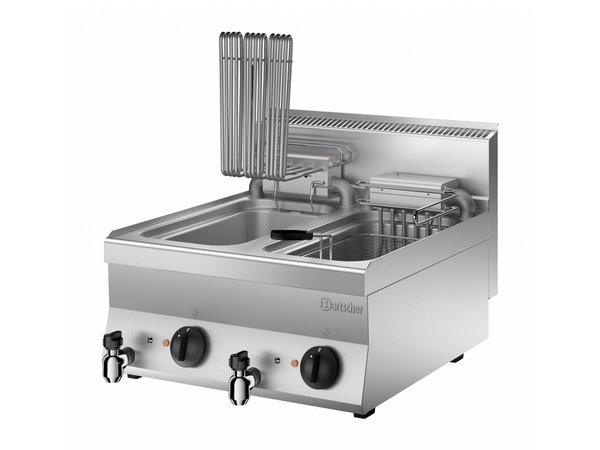 Bartscher Fritteuse | Mit Zusatzheizung | 400V | 18kW | 2x10 Liter | 600x650x (H) 295mm