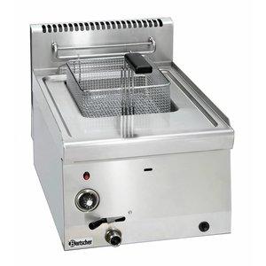 Bartscher Gas Fryer | 1x8 Liter | Series 600 | 6,7KW | 400x600x (H) 290mm