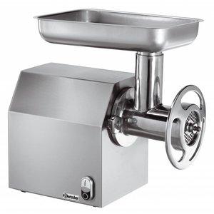 Bartscher XXL Gehaktmolen - 300 kg/u - 25,5x45x(h)45 - 1100W