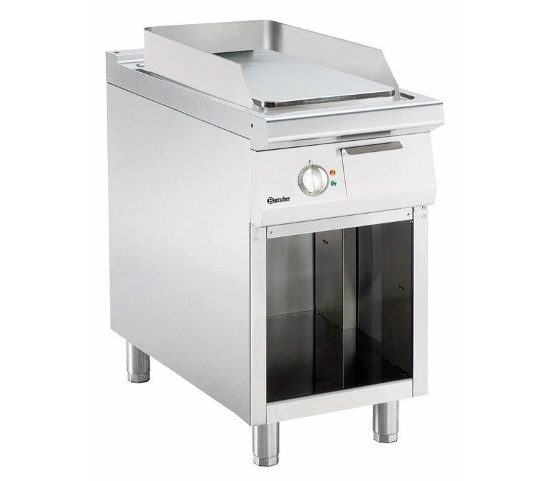 Bartscher Elektrische Herdplatte - glatt - 45x90x (h) 85 / 90cm - Open Unterbau - 400V / 6,6kW