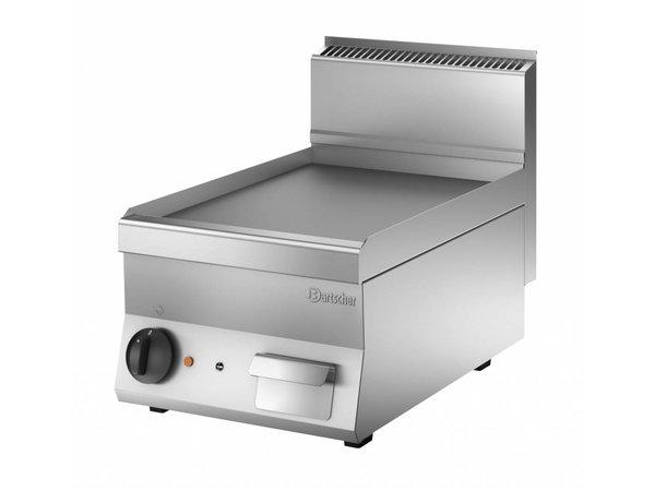 Bartscher Elektrische grillplaat - Glad - 40x65x(h)29cm - 3,9kW