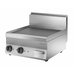 Bartscher Electric griddle - smooth - 60x65x (h) 29cm - 7,8kW