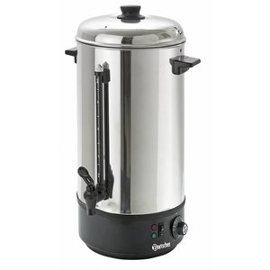 Bartscher Hot water dispenser / Glühwein kettle | level indicator | Ø213 mm | 10 liter