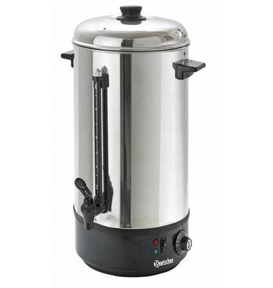 Bartscher Heißwasserspender / Glühwein Kessel | Füllstandsanzeige | Ø213 mm | 10 Liter