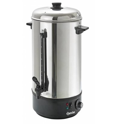 Bartscher Hot water dispenser / Glühwein kettle | level indicator | Ø213 mm | 10 liter