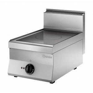 Bartscher Inductie Kooktoestel met 1 Zone   400V   5kW   400x650x(H)295mm